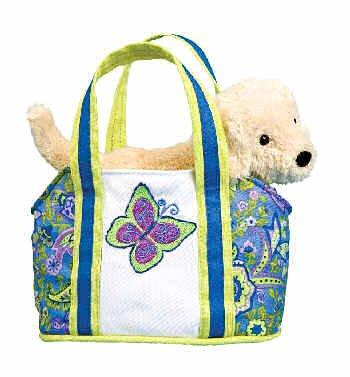 Dream Catcher Tote with Dog by Douglas