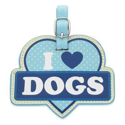 LittleGifts I Love Dogs Luggage Tag
