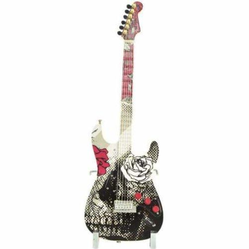 Guitarmania Rosey Eyes Guitar Figurine by Westland Giftware