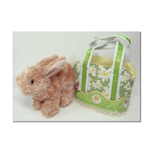 Douglas Green Daisy Tote with Honey Bunny