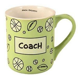 Coach Heart Warmer Mug by Our Name is Mud