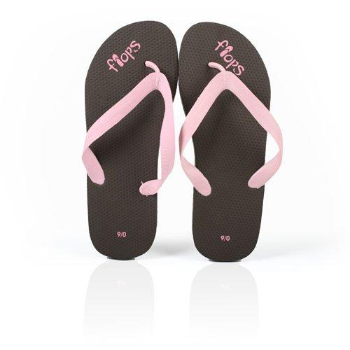 Women's Chocolate Strawberry Flip Flops from Planet Flops, women's 9.10 - Planet Flops