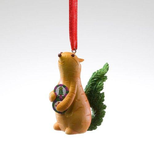 Home Grown Hanging Ornament, Carrot Chipmunk