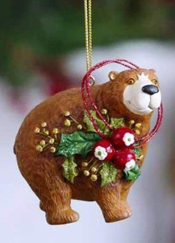 Giftcraft Woodland Animal Ornament, Choice of Owl, Moose, Bear or Deer