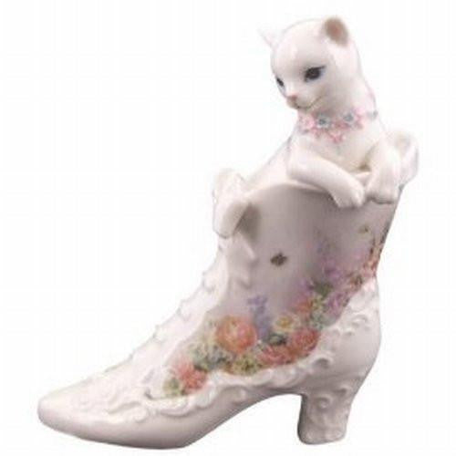 Kitty Kats Cat In Boot Figurine