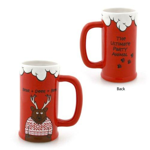 Enesco Our Name is Mud - Bear Deer Beer Stein
