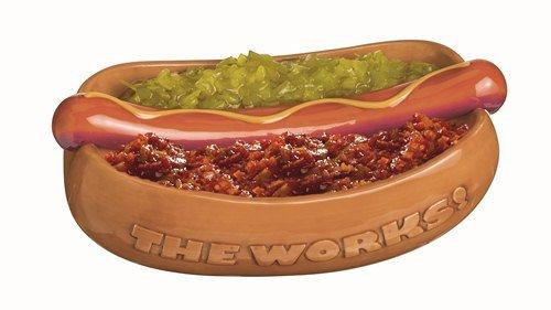 Grasslands Road Hot Dog Condiment Server