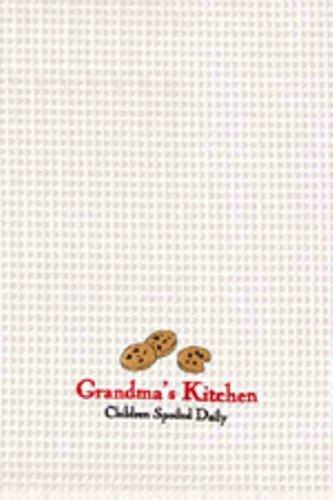 C&F Cotton Kitchen Towel, Grandma's Kitchen