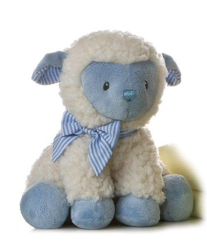 "Plush Baby 9"" Blue Boy Lamb"