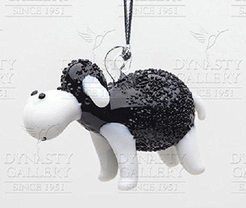 Dynasty Gallery Wildlife Collection Glassdelights Ornament or Figurine, Black Sheep