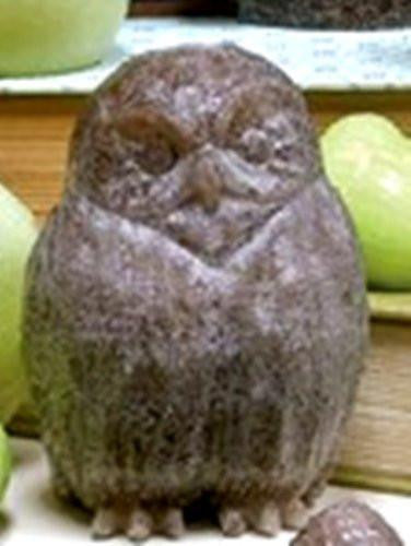 Habersham Candle Company Sculpted Candle, Barn Owl