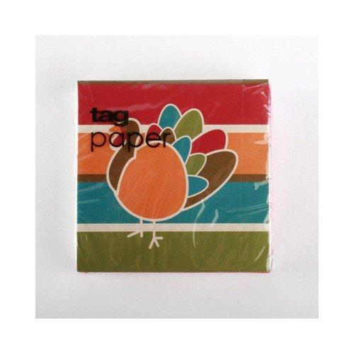 TAG Color Me Turkey Cocktail Napkin