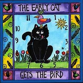 Early Cat Clock