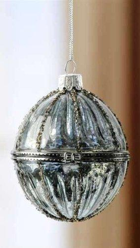 Giftcraft Glass Ornament, Choice of 2 Colors