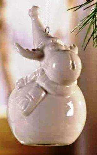 Giftcraft Ceramic Moose Ornament, Choice of Styles