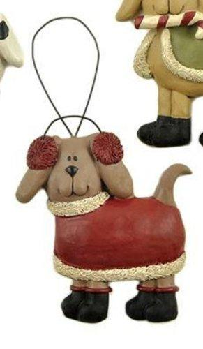 Blossom Bucket Sweater Dog Ornament, Choice of Styles