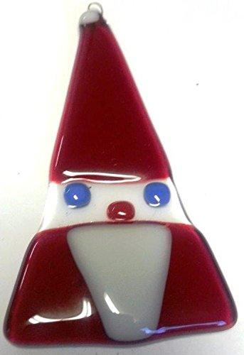 Glass Santa Ornament, Handmade in the USA - Gifts From A Distance