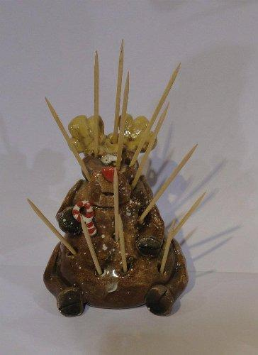 Clayton Dickson Handmade Moose Toothpick Holder, Made in Nova Scotia