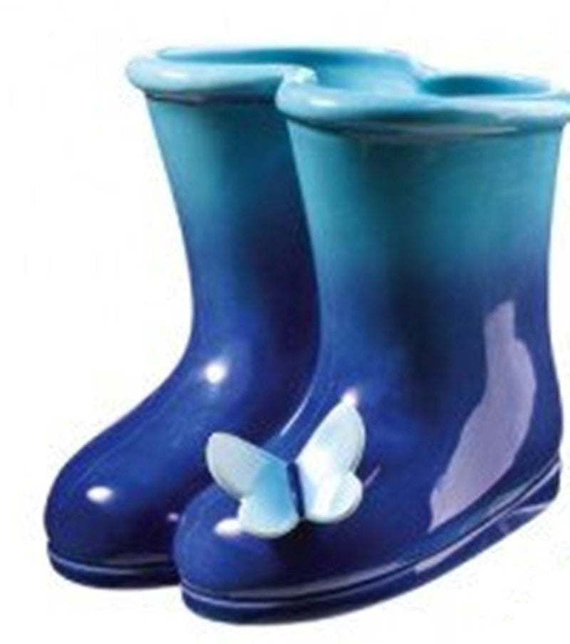 Grasslands Road Petals Garden Boots with Butterfly Vase - Choice of Color