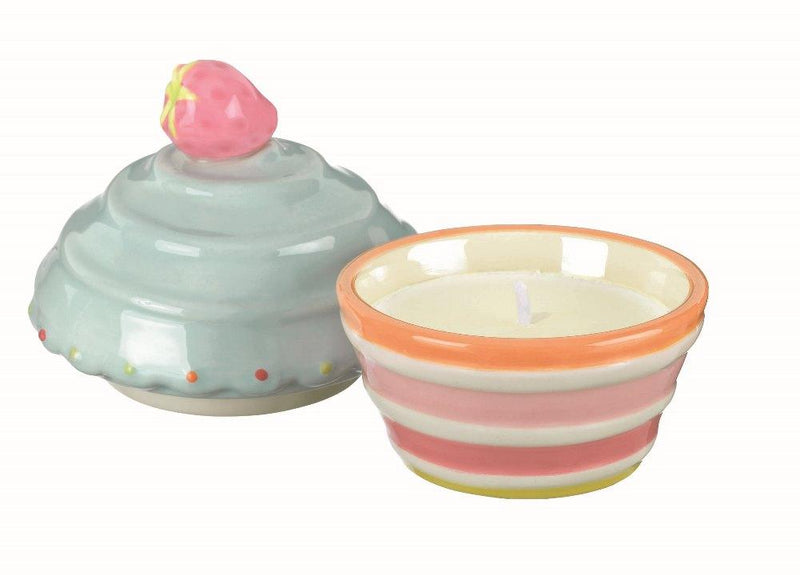 Grasslands Road Sweet Soiree Cupcake Candle Pot, Set of 4