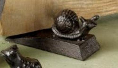 TAG Garden Friends Door Stop, Snail
