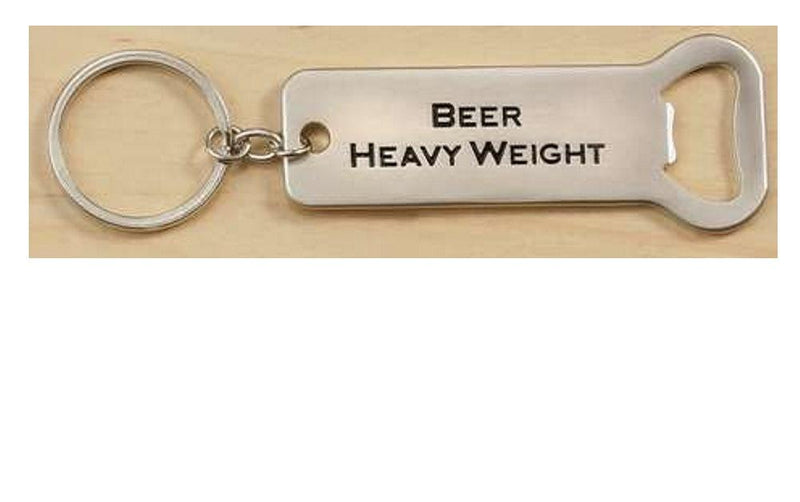Bottle Opener/Keychain by Giftcraft, Choice of Style - Gifts From A Distance