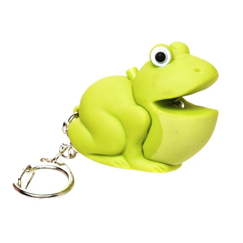 Light up Frog Keychain