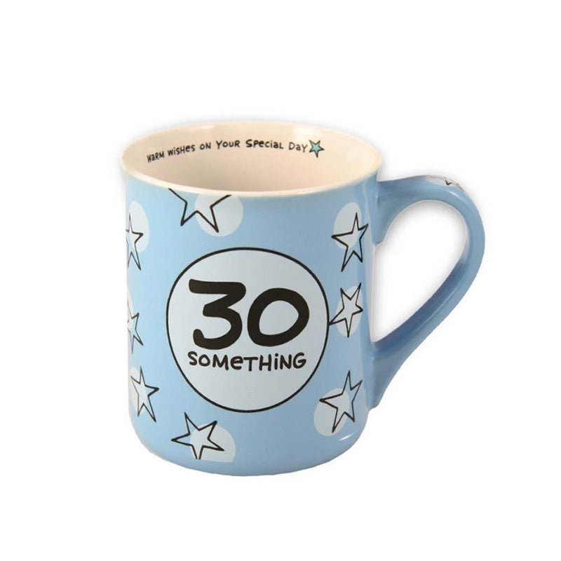 "Our Name Is Mud by Enesco ""30 Something"" Heart Warmers Mug"