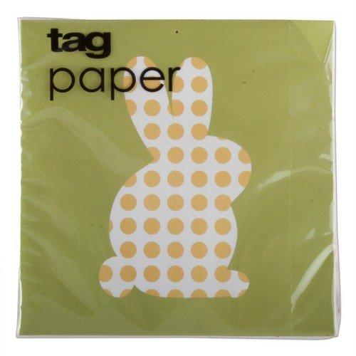 TAG Dot Bunny Cocktail Napkin, Set of 2
