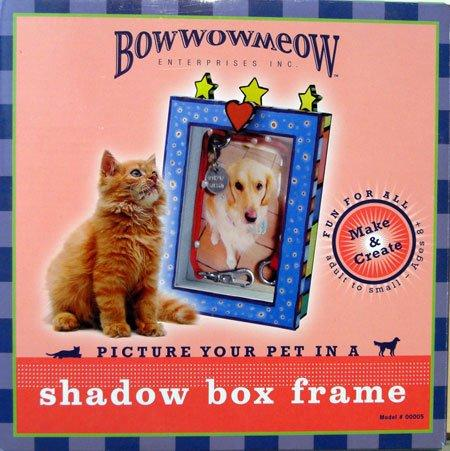 Bowwowmeow shadow box frame