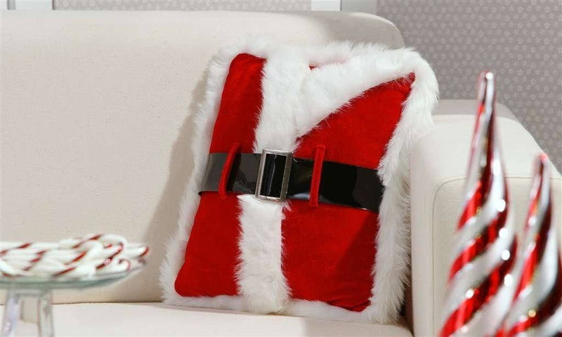 Santa Suit Pillow by Giftcraft