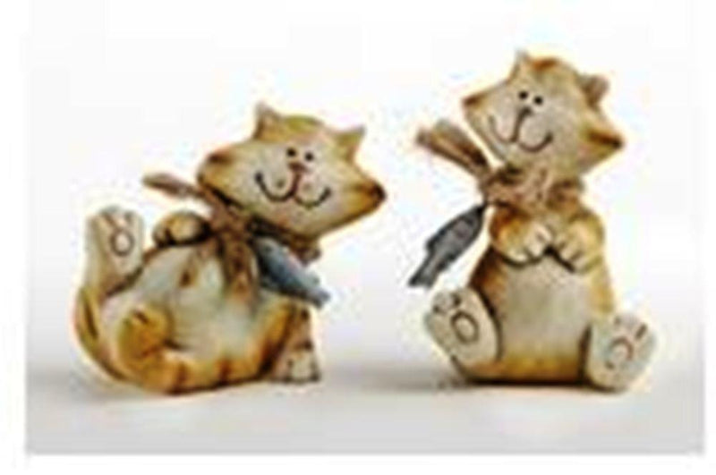 Delton Products Playing Cats, Set of 2