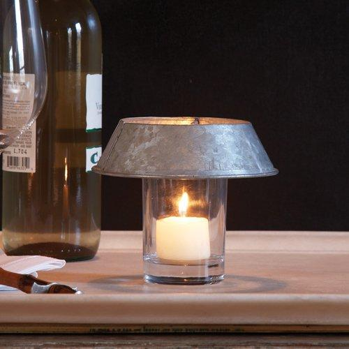 Two's Company Votive Holder with Shade