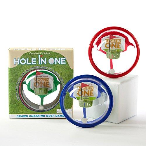 Two's Company Hole in One Golf Game , Choice of Color (Blue)