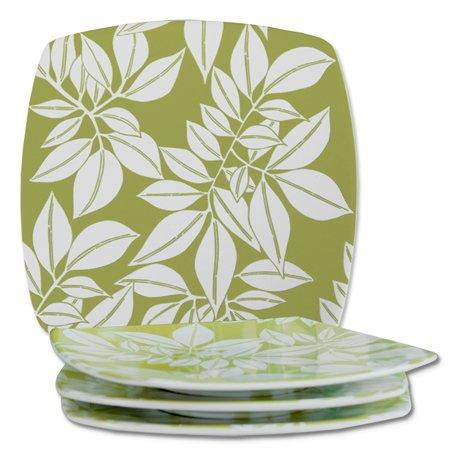 Zen Zen Java Porcelain Celery Small Plate, set of 4