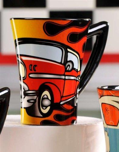 Giftcraft Ceramic Retro Hot Rod Mug - Gift Craft