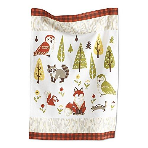 TAG Forest Friends Dishtowel