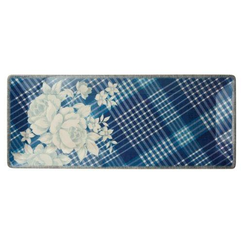 Grasslands Road In the Blue Plaid Rectangular Tray