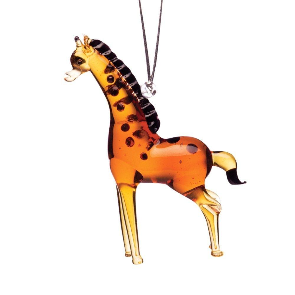 Dynasty Gallery Wildlife Collection Glassdelights Ornament or Figurine, Giraffe