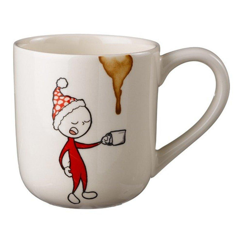 Grasslands Road Morning Coffee Cartoon Character Mug, Yawn