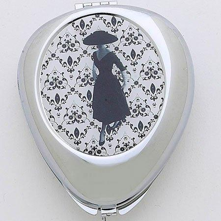Black and White Fashion Pill Box by Popular Creations
