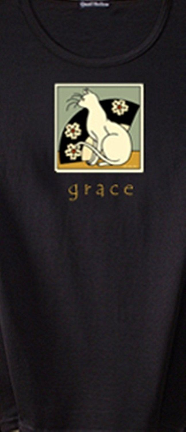Sybil Shane Living with Grace T- shirt, Small - Sybil Shane