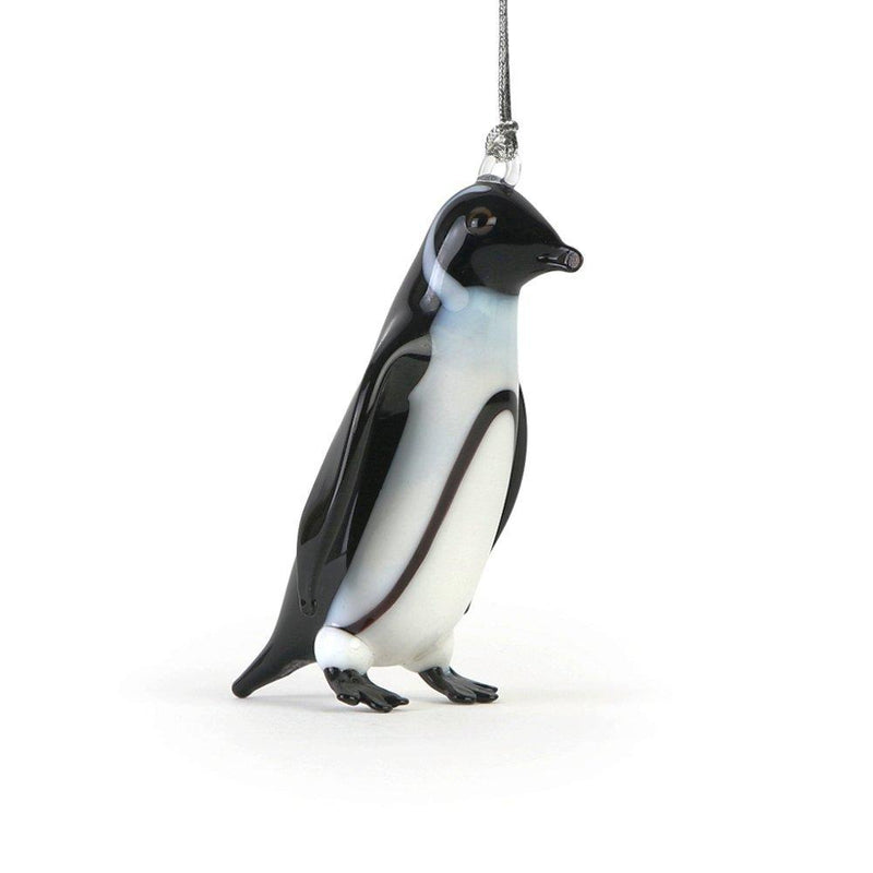 Dynasty Gallery Arctic Collection Glassdelights Ornament or Figurine, Black-Footed Penguin