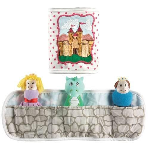 Izzy Pouch Pals - Castle by Manual Woodworkers & Weavers