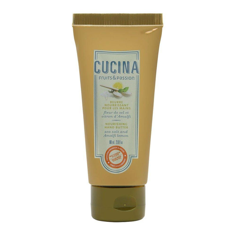 New Cucina 2.0 oz Nourishing Hand Butter (Sea Salt and Amalfi Lemon)