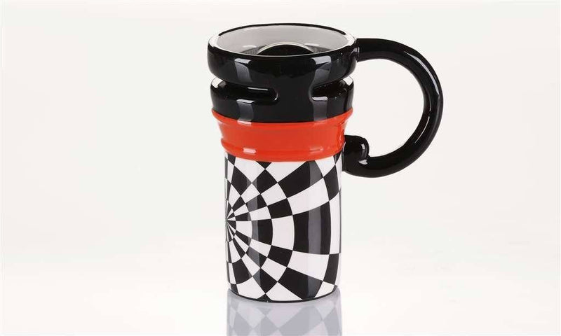 Giftcraft ULU Ceramic Travel Mug, Choice of Rim Colors