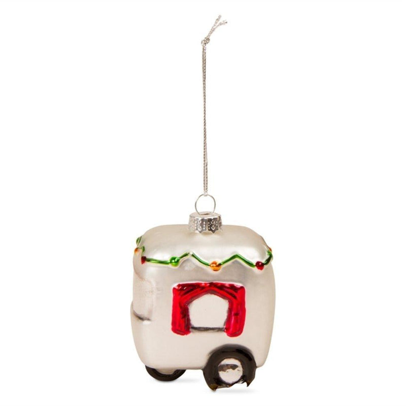 TAG Holly Jolly, Whimsy Christmas Collection Holiday Camper Ornament - TAG
