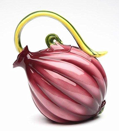 Ceramic Onion Teapot