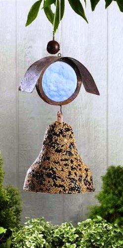 Giftcraft Rustic Metal Bird Seed Holder, Choice of Style - Gift Craft