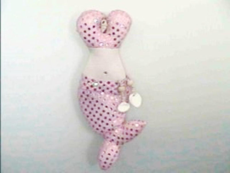 Mermaid Bustier Plush Sachet, Pink